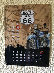 Dauerkalender Blechschild