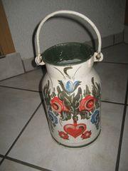 Milchkanne aus Metall 5 Liter