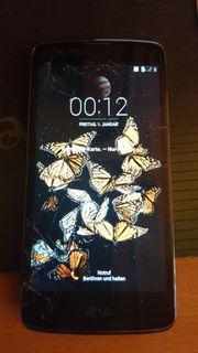 LG K8 lte displayschaden