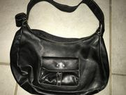 Leder Handtasche von