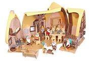 Schneewitchen Haus Werkstatt Puppen Zubehör