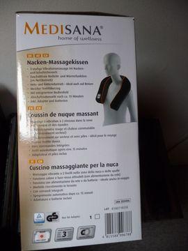 Massagekissen MEDISANA Nacken- und Schulterbereich: Kleinanzeigen aus Altomünster - Rubrik Medizinische Hilfsmittel, Rollstühle