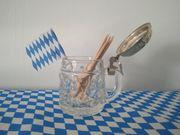 Schnapsglas - Stamperl mit Deckel Originell