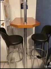 Cooler Bar Tisch und 2