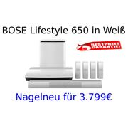 BOSE Lifestyle 650 in Weiß