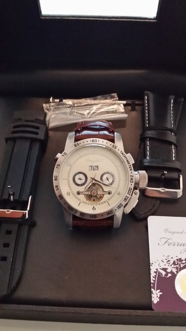 Verkaufe Marken Uhr Ferraghini Automatic