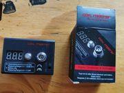 Digitales Ohmmeter Voltmeter