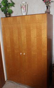 2türiger brauner Holz-Kleiderschrank Abholung bis