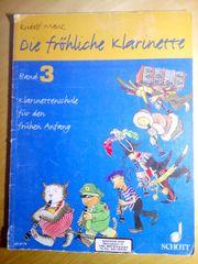 Die fröhliche Klarinette - Band 3
