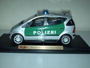 Maisto Modellauto Mercedes A-Klasse POLIZEI