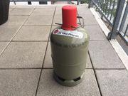 Gasflasche leer 5 kg Stahl