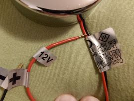 Zubehör und Teile - Wohnwagenlampe