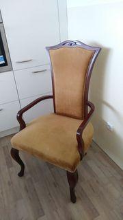 alter Armlehnsessel Stuhl Sessel