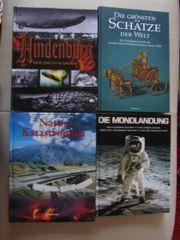 Hindenburg Mondlandung Naturkatastrophen Schätze d