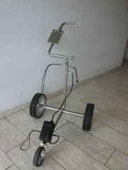 Travel Elektrotrolley aus Titan