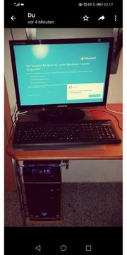 PC mit Monitor