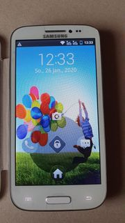 Fast ungebrauchtes Samsung Smartphone GT-T9500