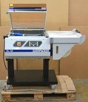 SAROPACKER SL55 Haubenschrumpfmaschine Folienverpackungsmaschine SL