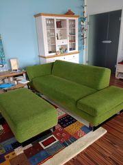Sofa 3 Sitzer mit Klappseitenteile