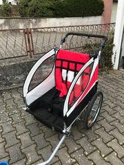 Fahrradanhänger für 2 Kinder günstig