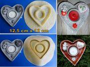 Latexform Herz - Kerzenständer