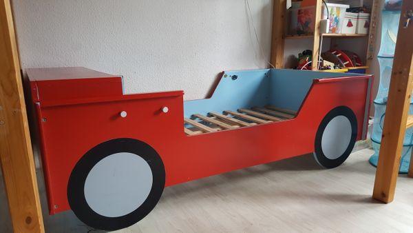 Kinderbett Auto Feuerwehr