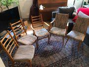 Stühle Kirschbaum 60er Jahre