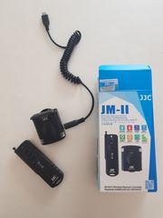 Wireless Remote JJC Fernbedienung für