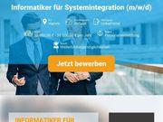 Informatiker für Systemintegration m w