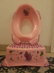 Toiletten Sitzverkleinerer und Tritthocker