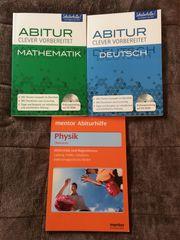 3 Bücher zur Abiturvorbereitung in