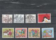 Briefmarken Schweiz Michel-Nr 1280-1287 gestempelt