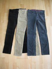Cord-Hosen für Mädchen Gr 140