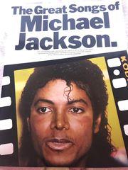 Michael Jackson Notenbuch Spiegel Poster