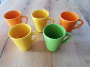 5 Tassen