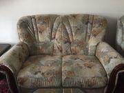 Couchgarnitur 2er Sofas und 1