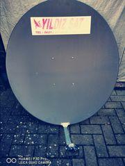 Satellitenschüssel 100 cm mit Twin