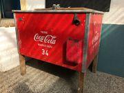 Coca Cola Kühltruhe Silo antike