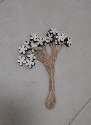 Blumen Anhänger zum dekorieren basteln -