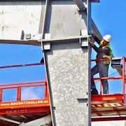 Barankauf Abbau Wiederaufbau von Gewerbehallen