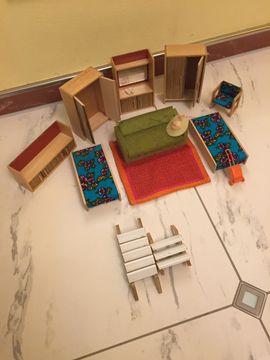 Bild 4 - Puppenhaus 80x50x60 cm mit Einrichtung - Starnberg