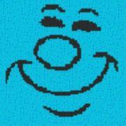 Vorlage für Ministeck Smiley23 40x40cm