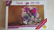 Puzzle 1000 Teile Stilleben Blumen