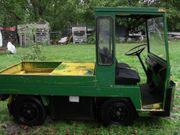Elektrofahrzeug Still Pritsche Transporter Zugmaschine