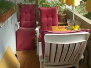 3 Balkon- bzw Terrassenstühle Kunststoff