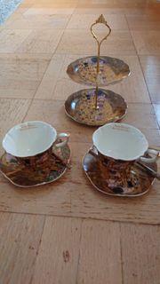 Kaffeset von Klimt