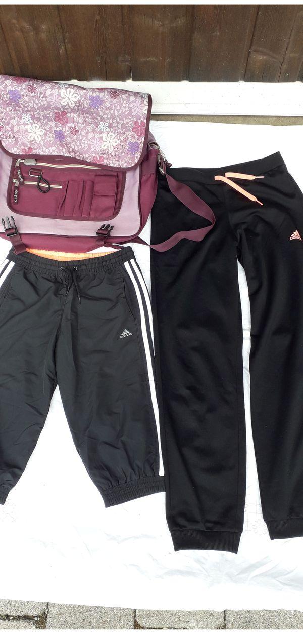 Adidas-Sport-Bekleidung für Mädchen Schultasche