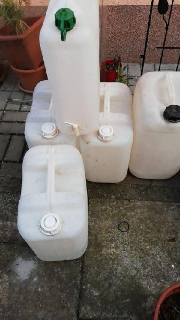 Dachbodenfund Wasserkanister