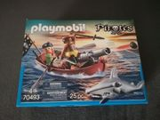 Playmobil 70493 - Piraten Ruderboot mit