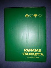 Originale Romme Canasta Karten